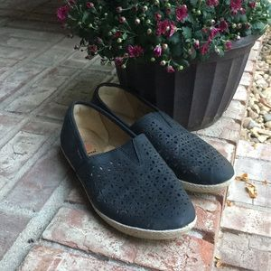 Earth Spirit Laser cut Loafers